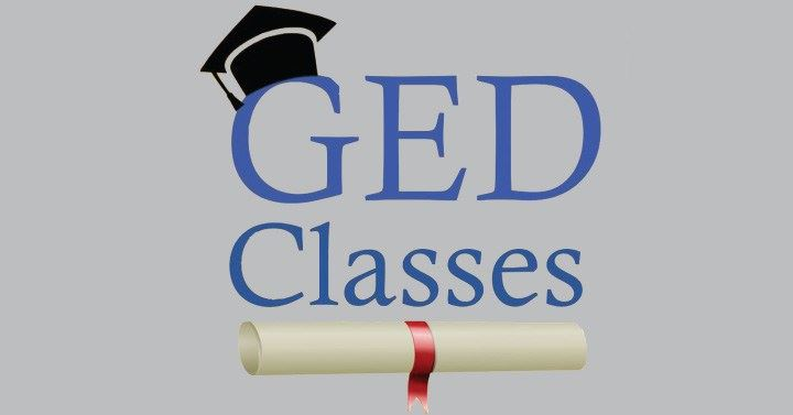 GED Classes Are In-Person!
