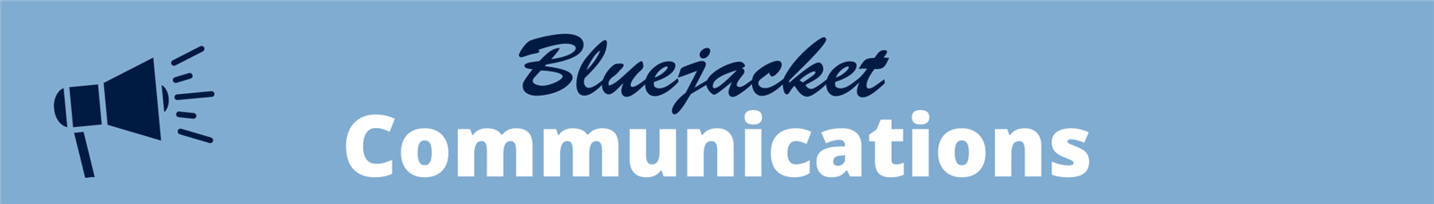 Blue District Communications Banner