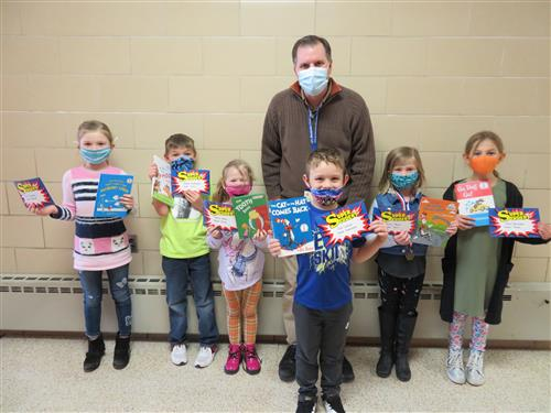 1st Grade super students for the month of February