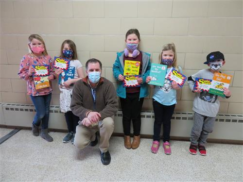 2nd grade super students for the month of February