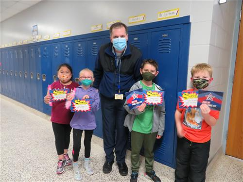 2nd Grade character trait winners for the month of January.