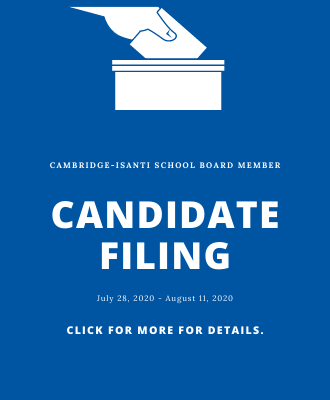School Board Candidate Filing Period is Open