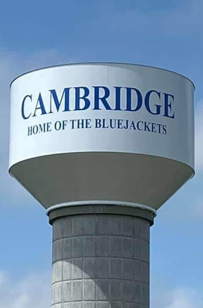 Watertower Home of the Bluejackets